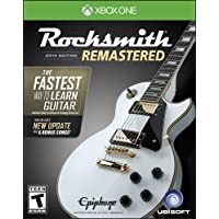 Rocksmith, edición 2014 remasterizada; Xbox One, edición estándar - PlayStation 4