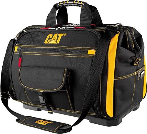 Cat 18 inch Pro Toolbag 56 Pockets Heavy Duty 1680D Polyester – 240051