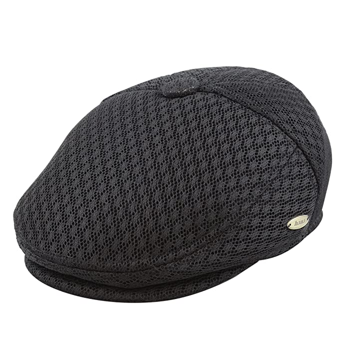 THE HAT DEPOT Light Weight Soft Cool Mesh newsboy Gatsby Cabbie IVY ... 4890c91d3d3