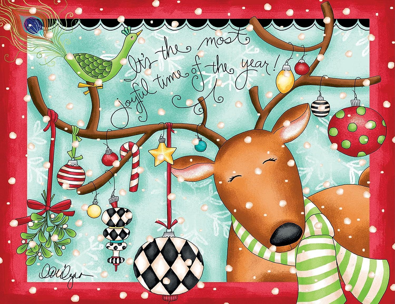 LANG - Joyful Reindeer, Boxed Christmas Cards, Artwork by LoriLynn ...