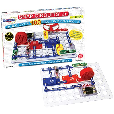 Learning games - educational games for toddlers - Snap Circuits Jr. SC-100 Electronics Discovery Kit