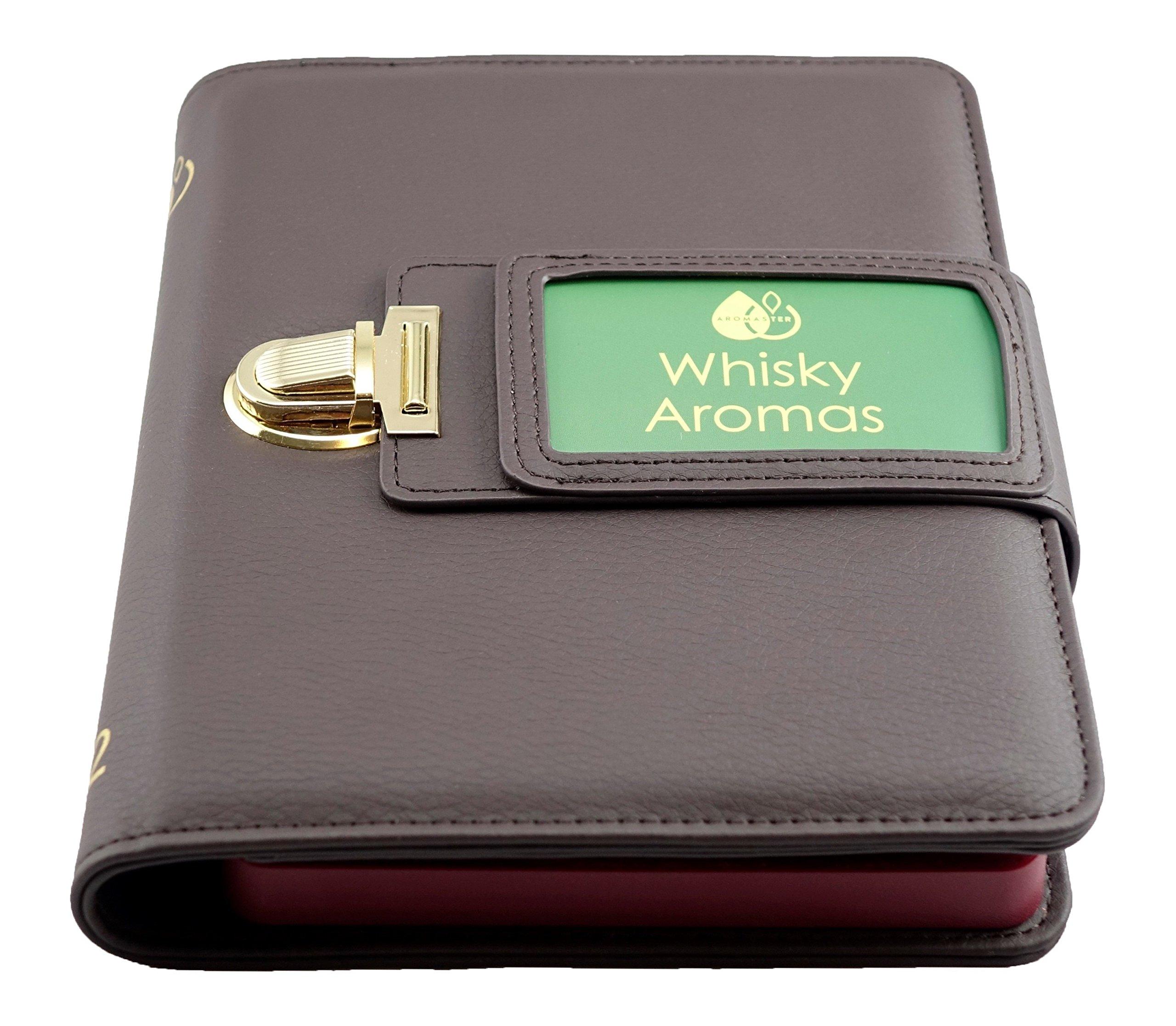 Whisky Aroma Kit - 12 Aromas (incl. Whisky Aroma Wheel)