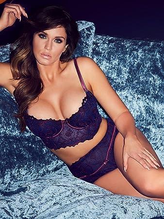 6414523e7b Ann Summers Womens Ophelia Longline Balcony Bra Wired Sexy Lingerie  Underwear 32A: Amazon.co.uk: Health & Personal Care