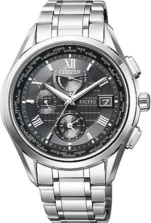 e923207bc9 [シチズン]CITIZEN 腕時計 EXCEED エクシード エコ・ドライブ電波時計 ダブルダイレクトフライト AT9110