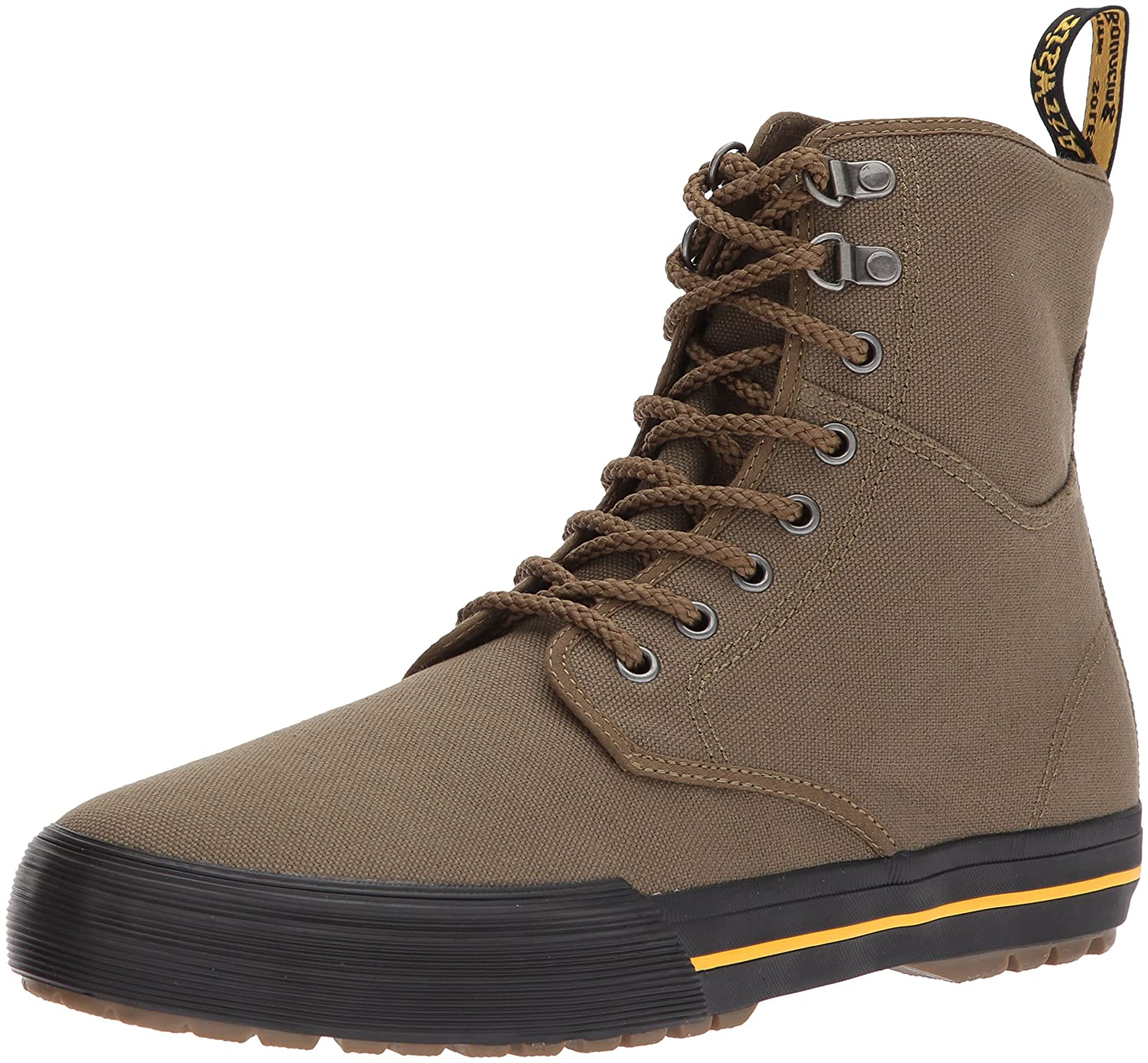 Dr. Martens Winsted Boot Mid Olive Canvas Ankle Boot Winsted B01N0W11T0 12 Medium UK (US Men's 13 US)|Olive be7f30