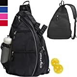 Athletico Sling Bag - Crossbody Backpack for Pickleball, Tennis, Racketball, and Travel for Men and Women