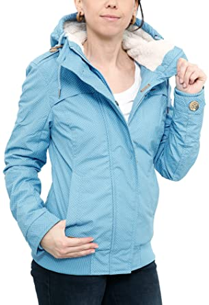 Ragwear Ewok Minidots Jacket Light Blue: Amazon.de: Bekleidung