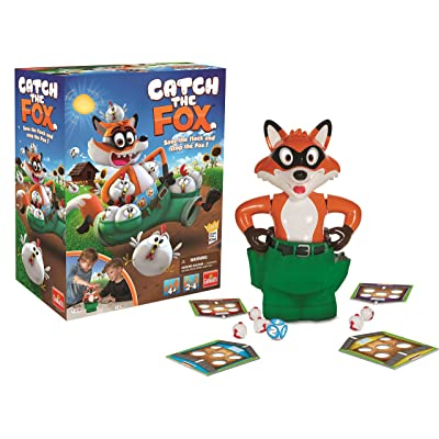 Catch The Fox - Collect The Most Chickens When The Fox Loses His Pants Game! by Goliath: Toys & Games