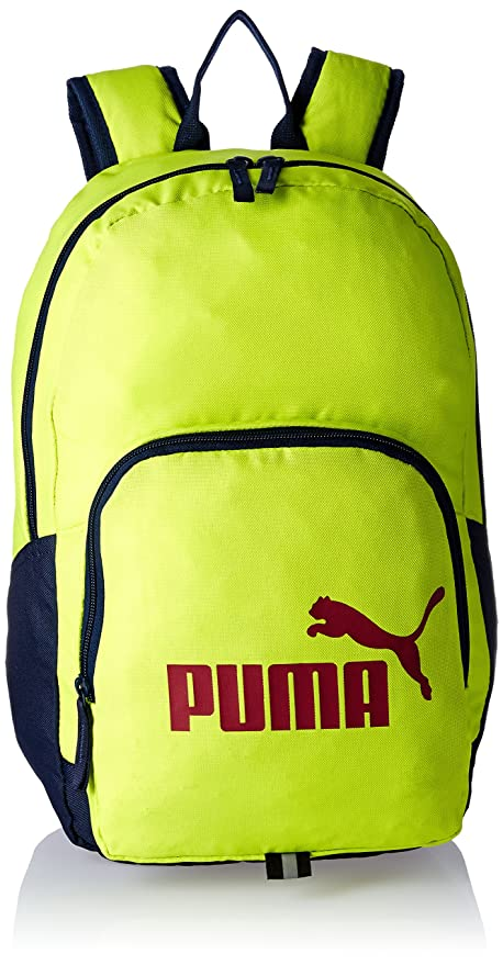 0a5499b4bbb0 Puma 20 Ltrs Limepunch Casual Backpack (7358911)  Amazon.in  Bags ...
