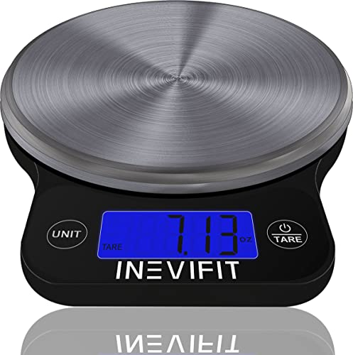 Inevifit Digital Kitchen Scale, Accurate Multifunction Food