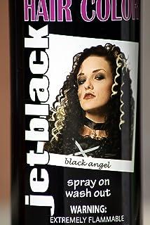 Inspirational Black Color Hair Spray