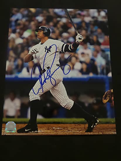 the best attitude cdf4b 4499c Alex Rodriguez Signed New York Yankees Autographed 8x10 ...