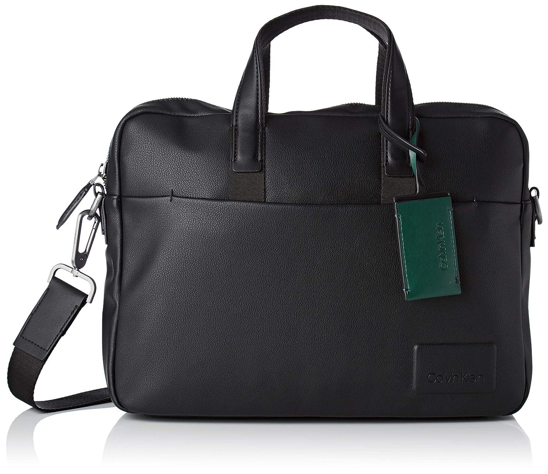 d6ff2d6d8 Calvin Klein Jeans Task Force 1 Gusset Laptop Bag, Men's Black, 7x28x37 cm  (B x H T)