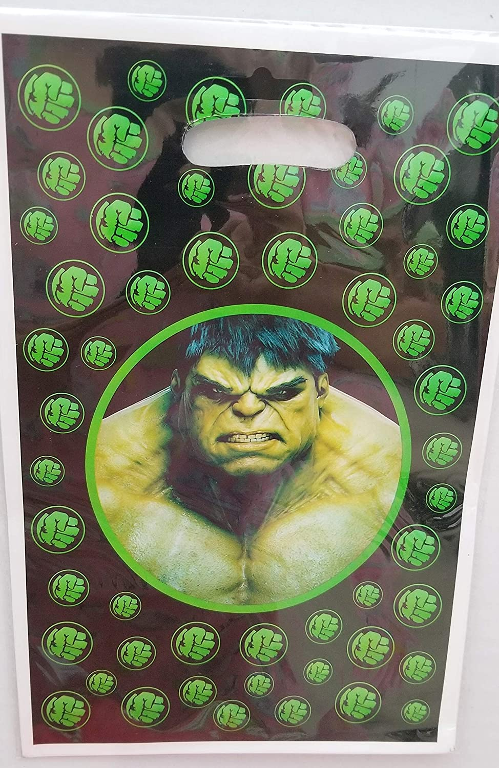 Amazon.com: Gallmark The Incredible Hulk Bolsas de fiesta ...