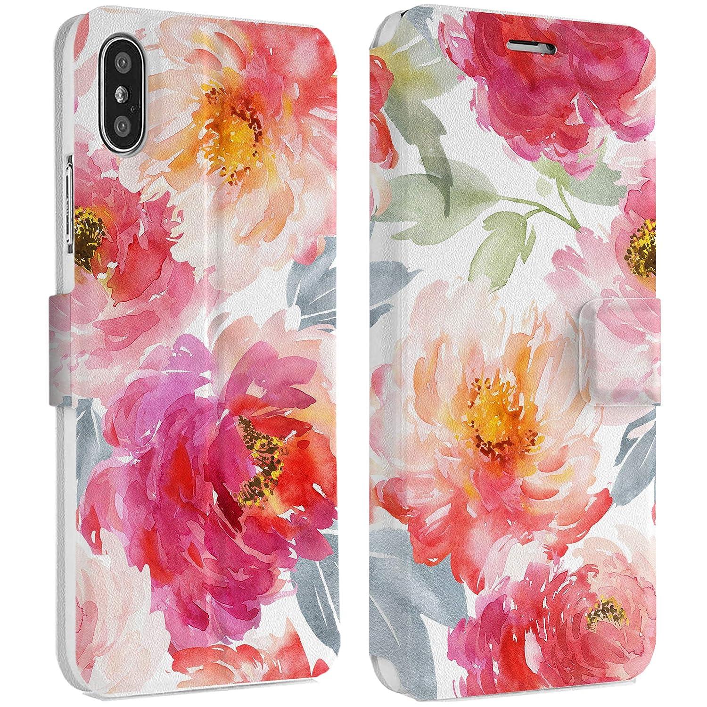 Amazon Com Wonder Wild Watercolor Flowers Iphone Wallet