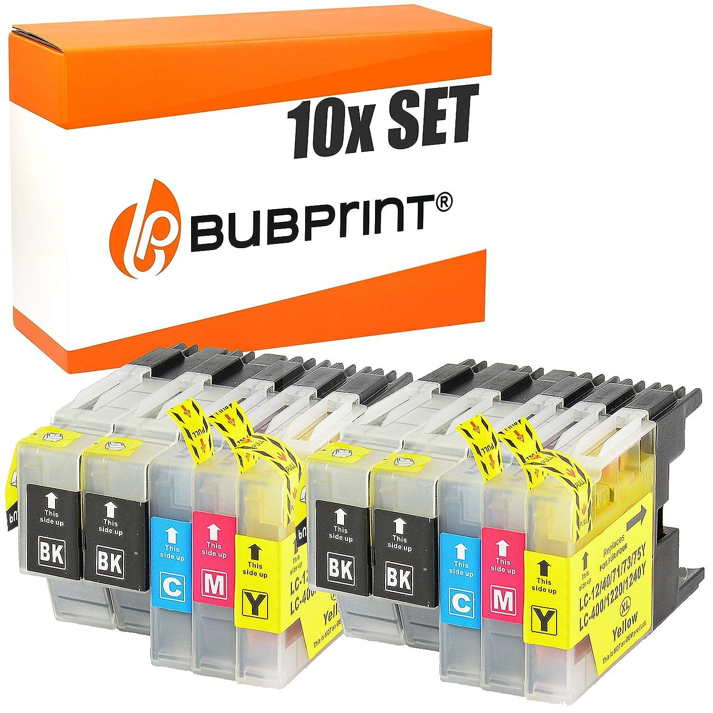 Bubprint 10 Cartuchos de Impresora Compatible con Brother lc-1220 ...