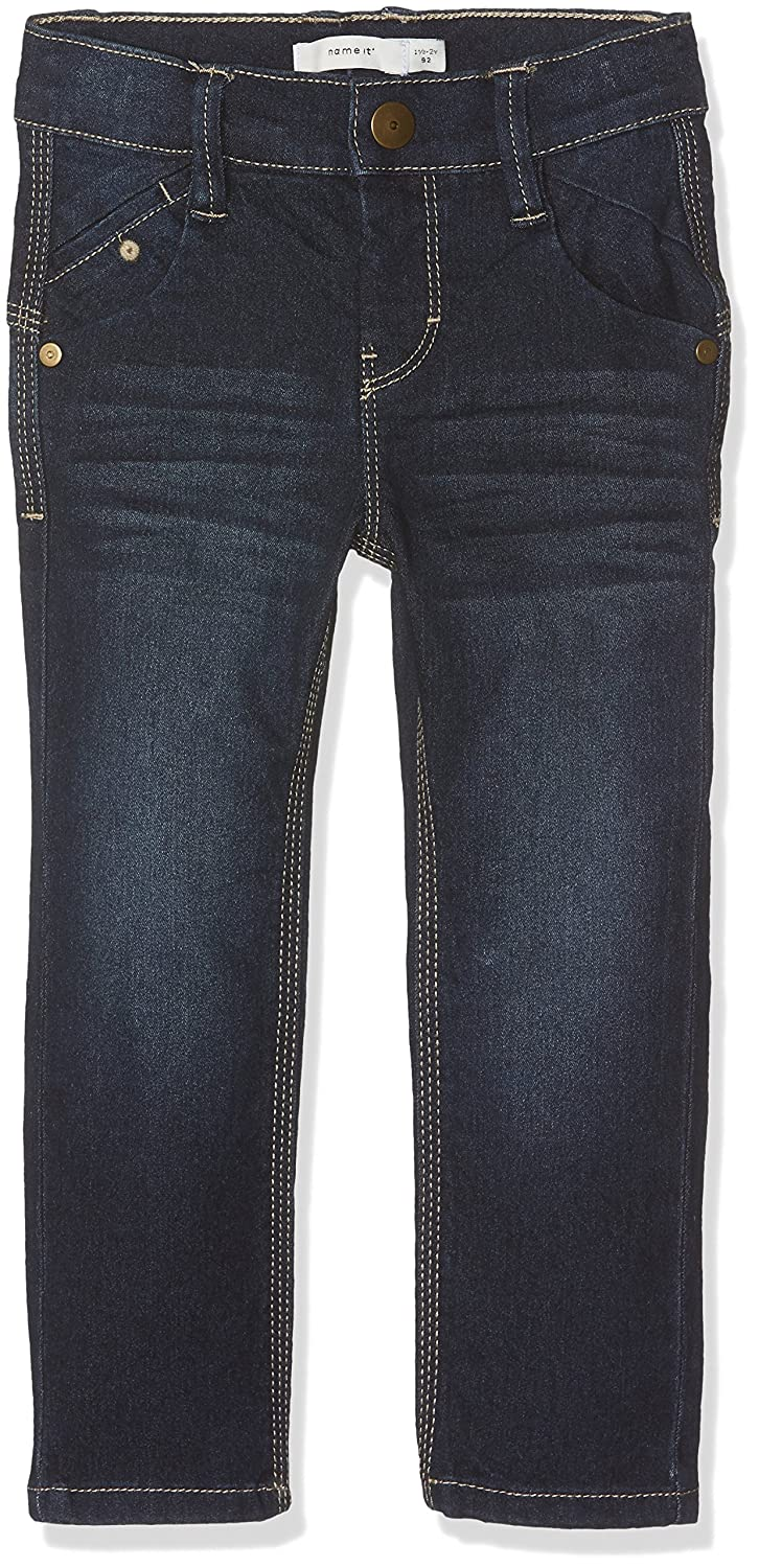 NAME IT Baby-Jungen Jeans Nitalex Slim Dnm Pant M Mini Camp Blau (Dark Blue Denim) 92 13144928
