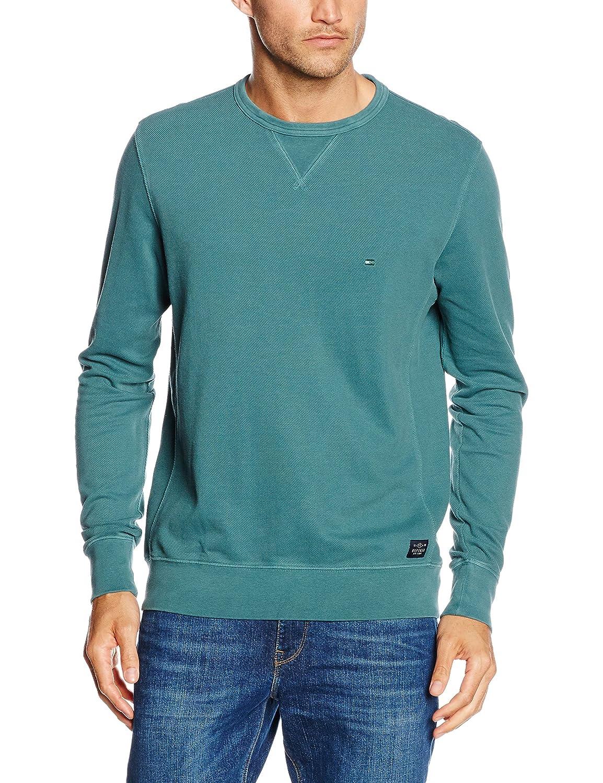 Tommy Hilfiger Herren Sweatshirt Pique Gmd C-Nk L/S Vf