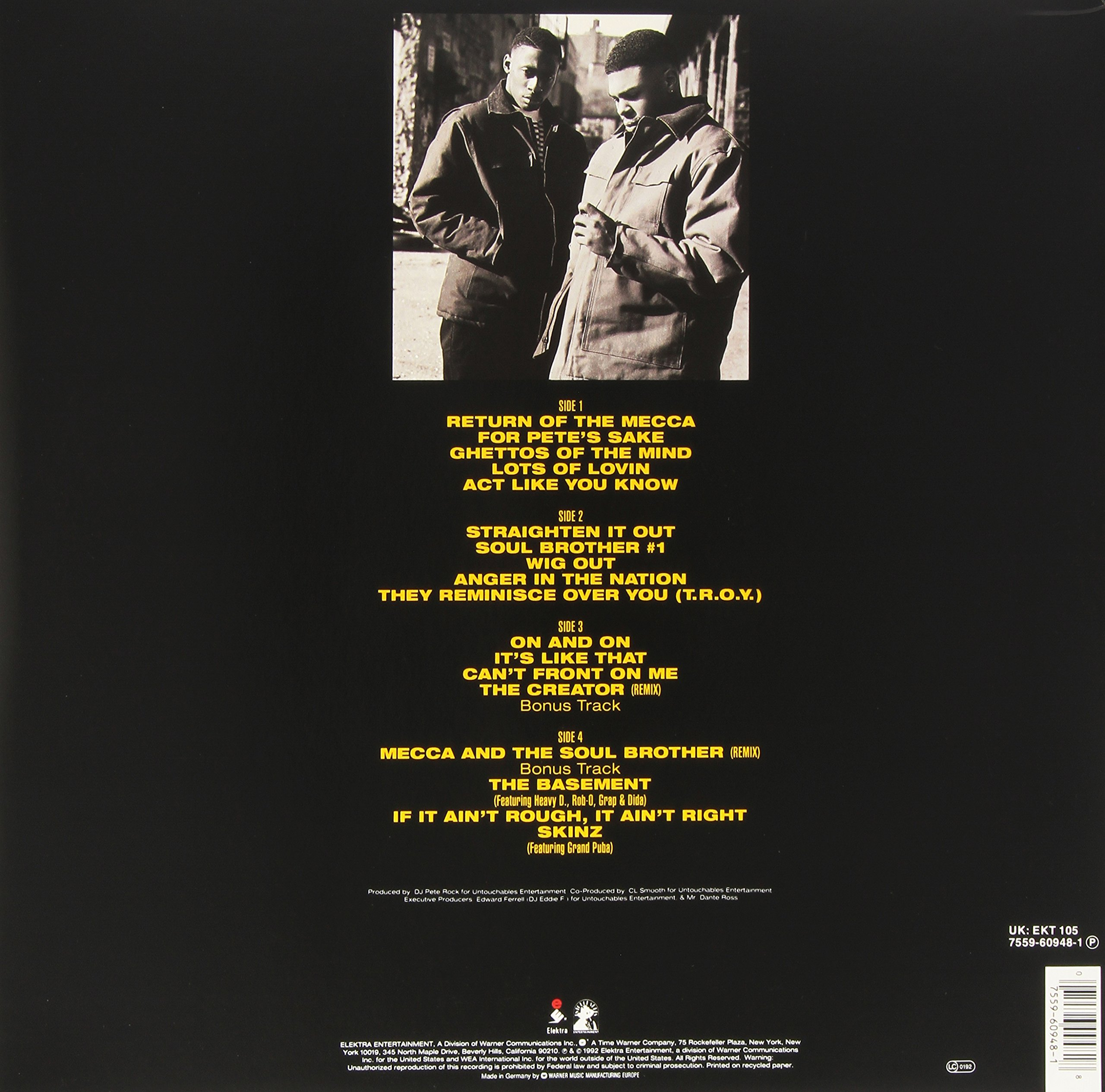 Mecca and the Soul Brother [Vinyl]