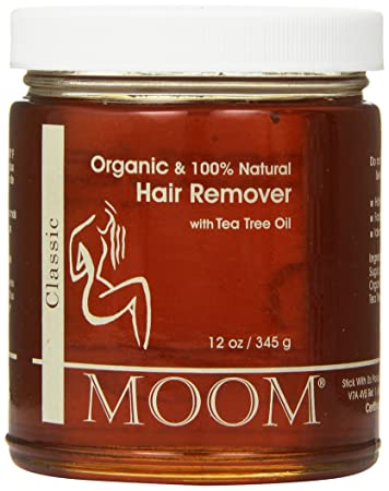 Amazon.com: Moom Organic Hair Removal with Tea Tree Refill Jar, 14 ...