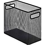 AmazonBasics Mesh Steel Desktop Hanging File Holder, Black