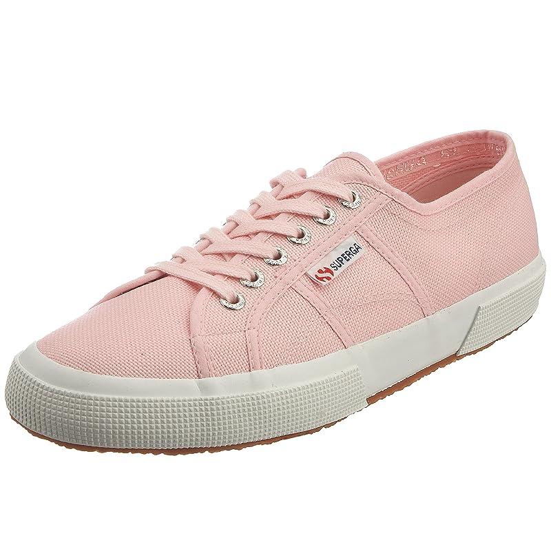 Superga 2750 Cotu Classic Sneakers Low-Top Unisex Damen Herren Rosa