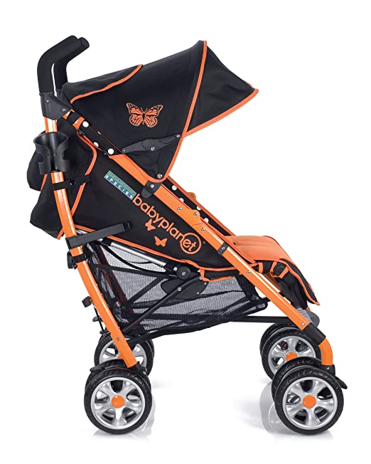 Amazon.com : BabyPlanet Endangered Species Stroller, Butterfly (Discontinued by Manufacturer) : Lightweight Strollers : Baby