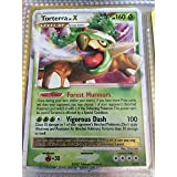 Pokemon - Torterra LV.X – DP09 – Promotional (DP09) - Diamond and Pearl Black Star Promos - Holo