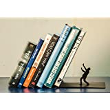Falling Book bookends by Mint Wood