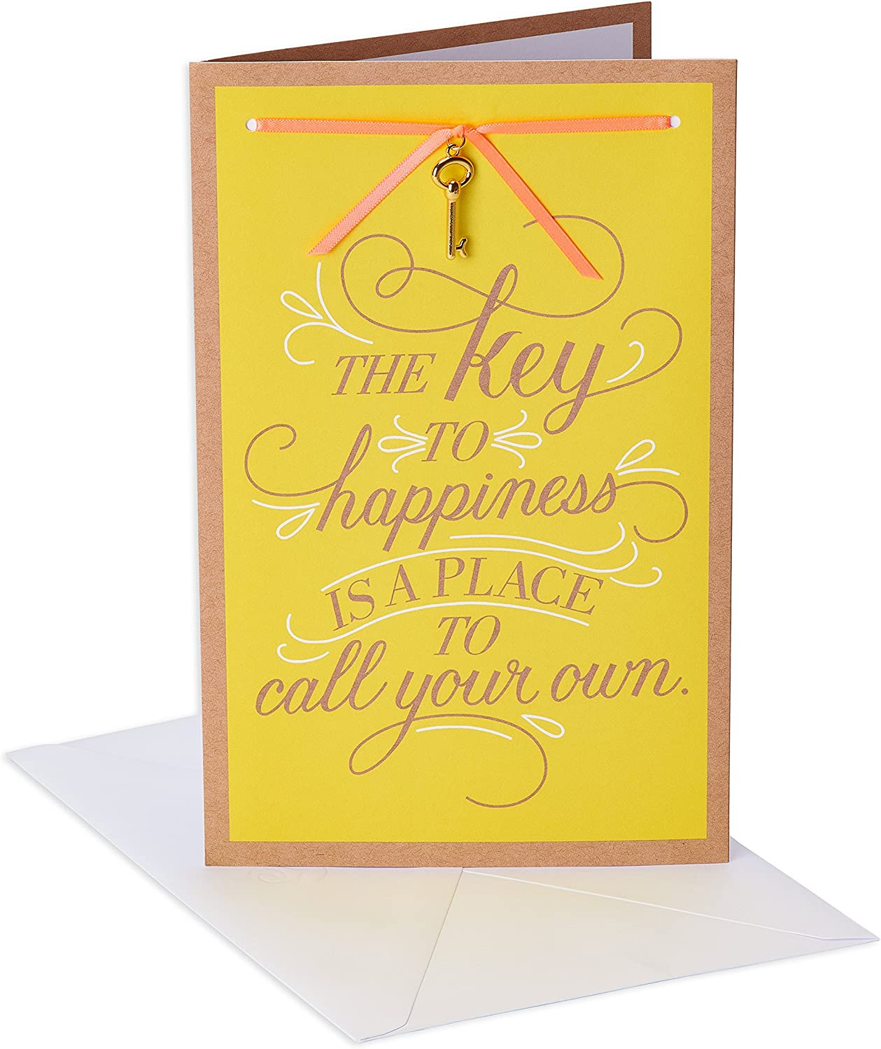 American Greetings New Home Card (Key to Happiness)