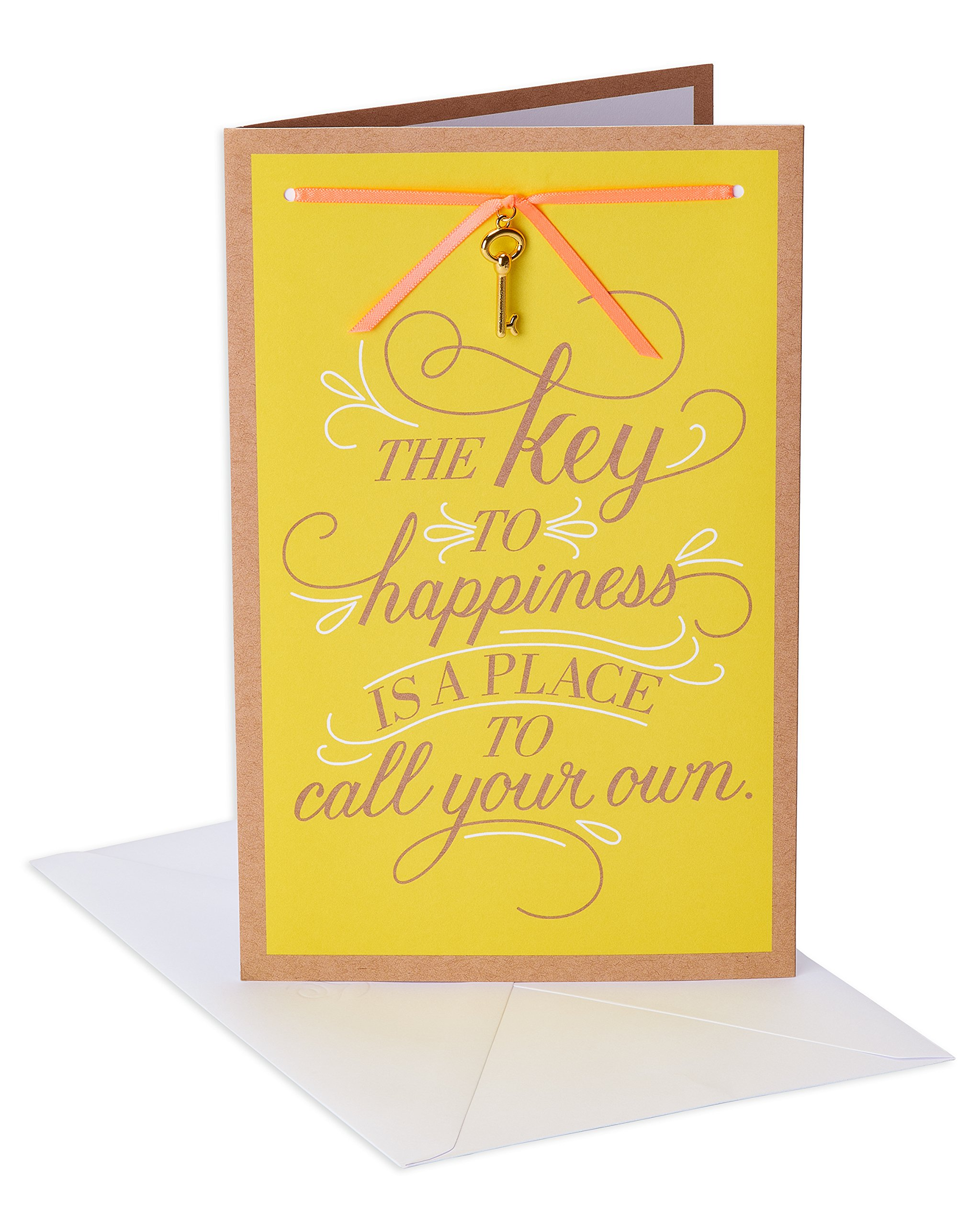 American Greetings Key To Happiness New Home Congratulations Card