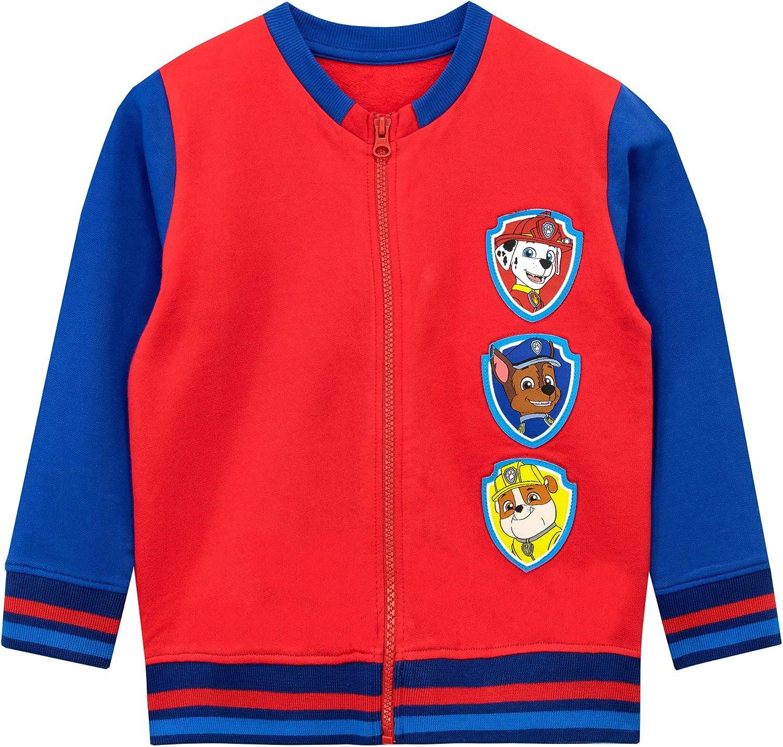 PAW PATROL Boys Chase Marshall Rubble Sweatshirt