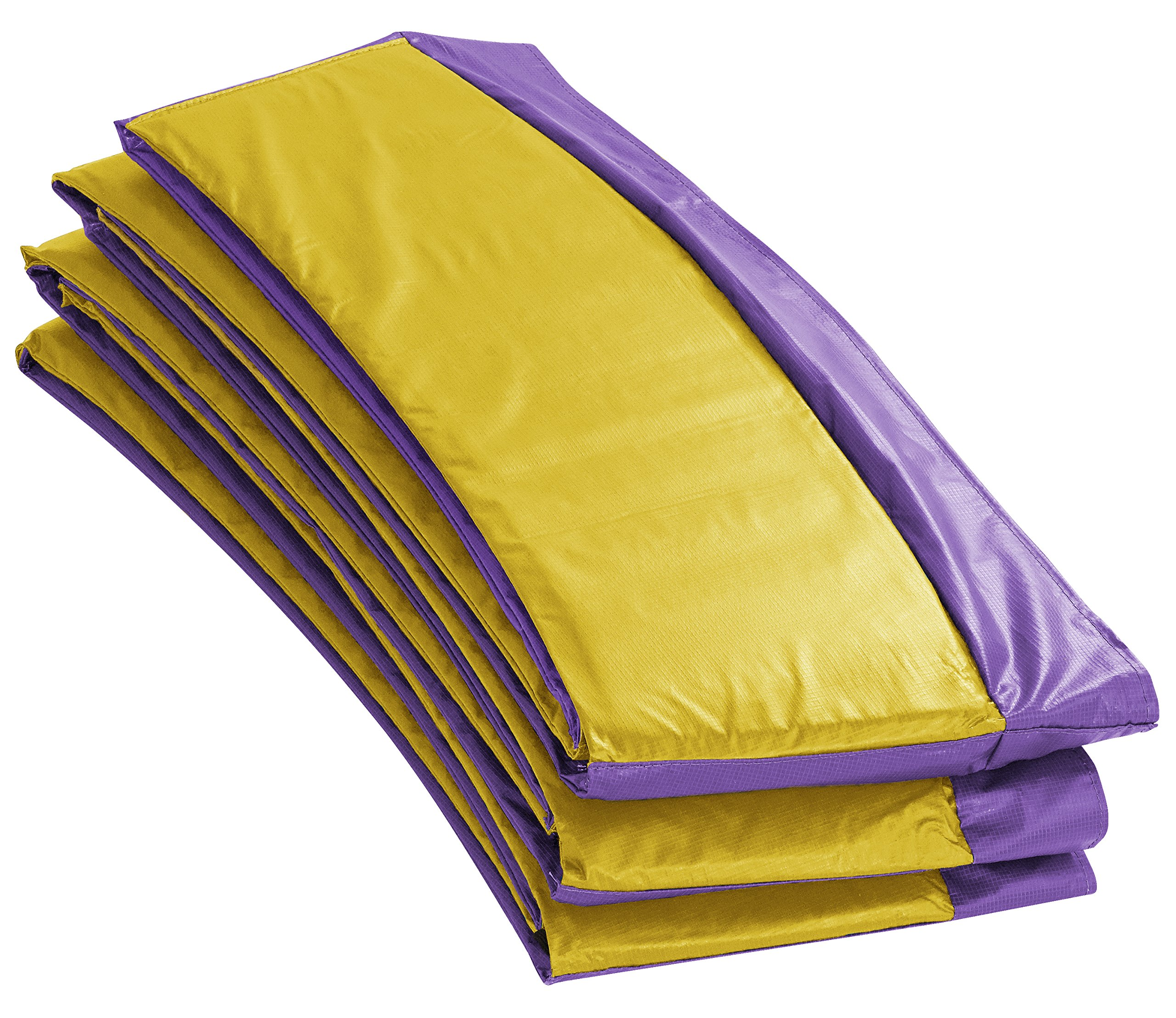 Upper Bounce UBPAD-S-9-PY Super Trampoline Replacement Safety Pad (Spring Cover) Fits for 9'. Round Frames - Purple/Yellow by Upper Bounce