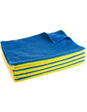 Microfiber Cloths Cleaning Towels Dust Polish and Clean by Stalwart