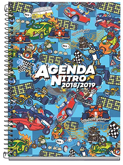 Amazon.com : Kukuxumusu 273048 - School Agenda 18/19 ...