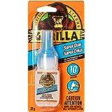 Gorilla Glue Super Glue Liquid, Fast-Setting, Versatile Cyanoacrylate Glue, Anti-Clog Cap, Flow Control Formula, Clear, 0.71o
