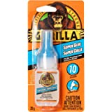 Gorilla Glue Super Glue 20G, Clear, 1-Pack