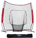 Rukket Sports 7 x 7 Baseball & Softball Practice Net with Bow Frame
