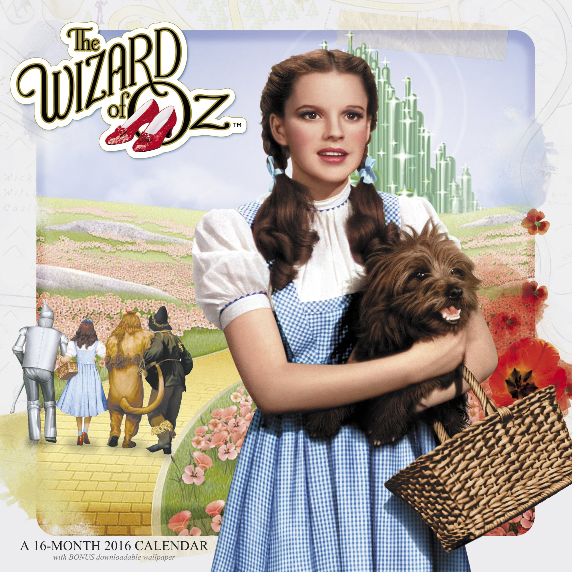 The Wizard Of Oz 2016 Calendar Free Downloadable Wallpaper