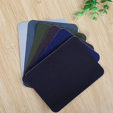 Naler 30 Parches Termoadhesivos Parches Tela Adhesivos para Ropa Planchar y Coser (6 Colores): Amazon.es: Hogar