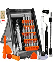 Jetfix 52in1 Precision Magnetic IT Screwdriver Set for Computer/Watch/Electronics/Cell Phone/PC/Laptop/Glasses/Hardware/iPad/Mac/iPhone/Tablet/Jewellers/Samsung/Apple/DJI Mavic Drone