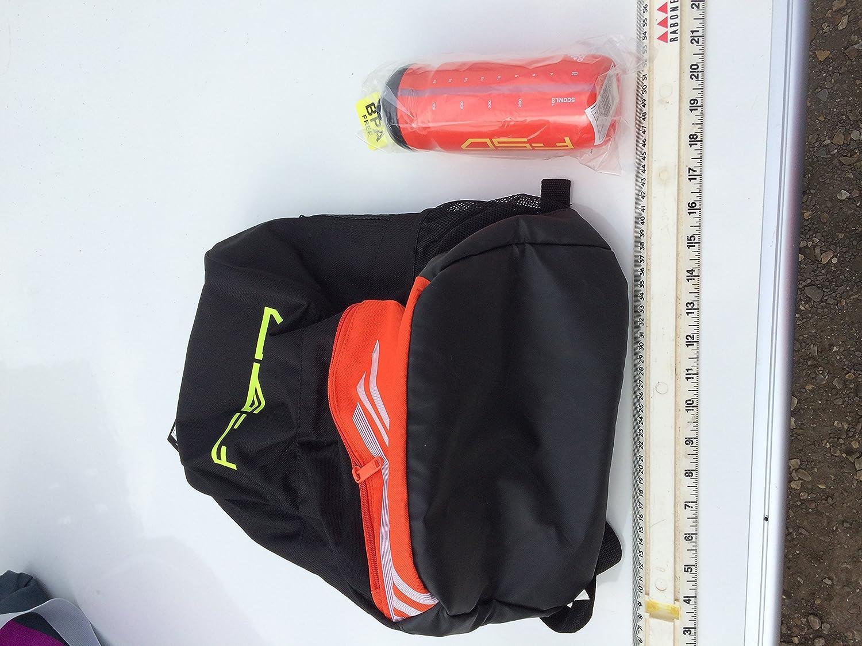 200ef95f0ee ADIDAS F50 BACK PACK BLACK AND ORANGE (backpack school bag ruck sack  rucksack)  Amazon.co.uk  Luggage