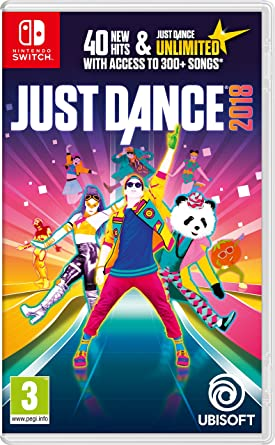 Just Dance 2018 - Nintendo Switch [Importación inglesa]: Amazon ...