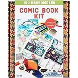 Kid Made Modern Comic Book Kit Playset