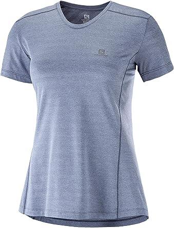 Polyester//Elastane XA TEE Salomon Womens Short Sleeved Sport T-Shirt