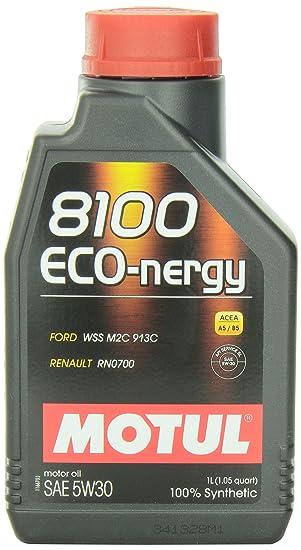 MOTUL 102782 - 12 8100 eco-nergy 5 W-30 Aceite, (funda de 12): Amazon.es: Coche y moto