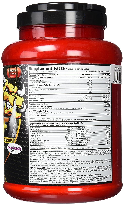 Amix Monster Beef Aminoácidos - 1000 gr_8594159535084: Amazon.es: Salud y cuidado personal