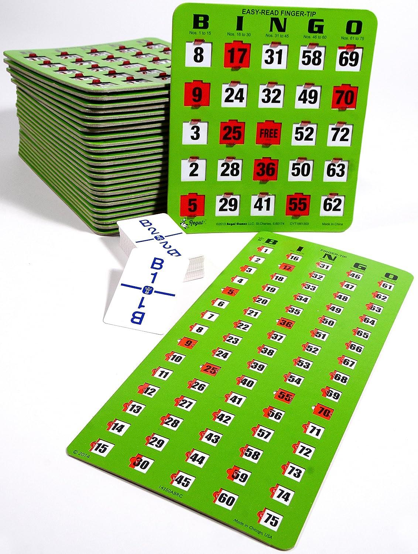 【正規通販】 BINGOキット B00KRNXQIS – 50ジャンボEasy 50ジャンボEasy Read BINGOキット finger-tipカード、Masterboardと通話カード(グリーン) B00KRNXQIS, standard:5f62e431 --- realcalcados.com.br