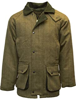 d740f3b04ce1b Walker & Hawkes - Mens Derby Tweed Shooting Hunting Country Jacket - Light  Sage