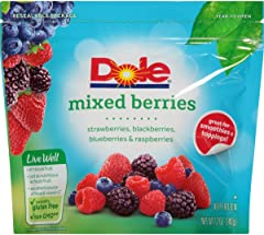 Dole Frozen, Mixed Berries, 12oz